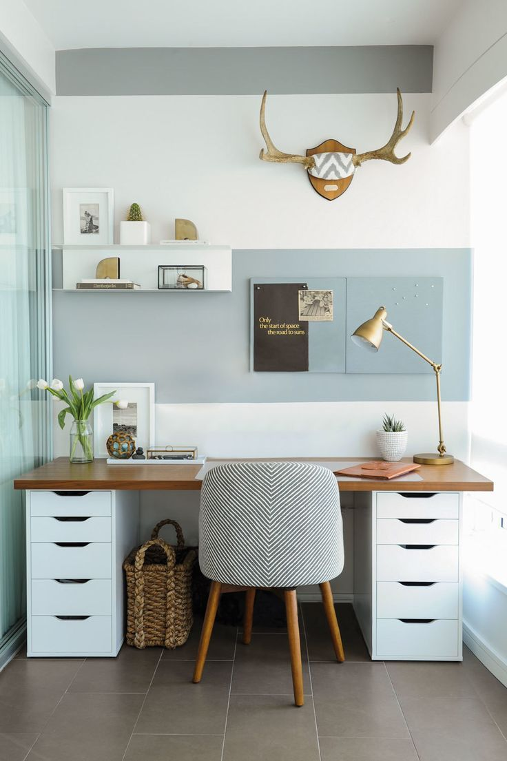 Stylish Small Home Office