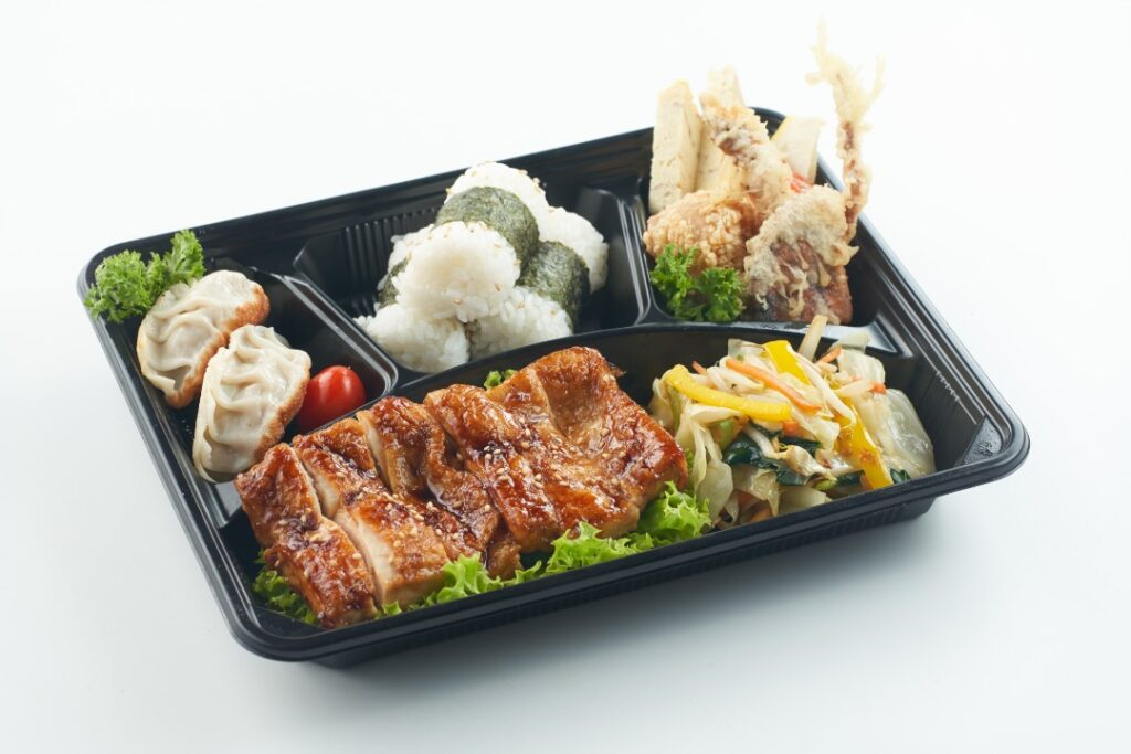 4. Chicken Teriyaki Bento