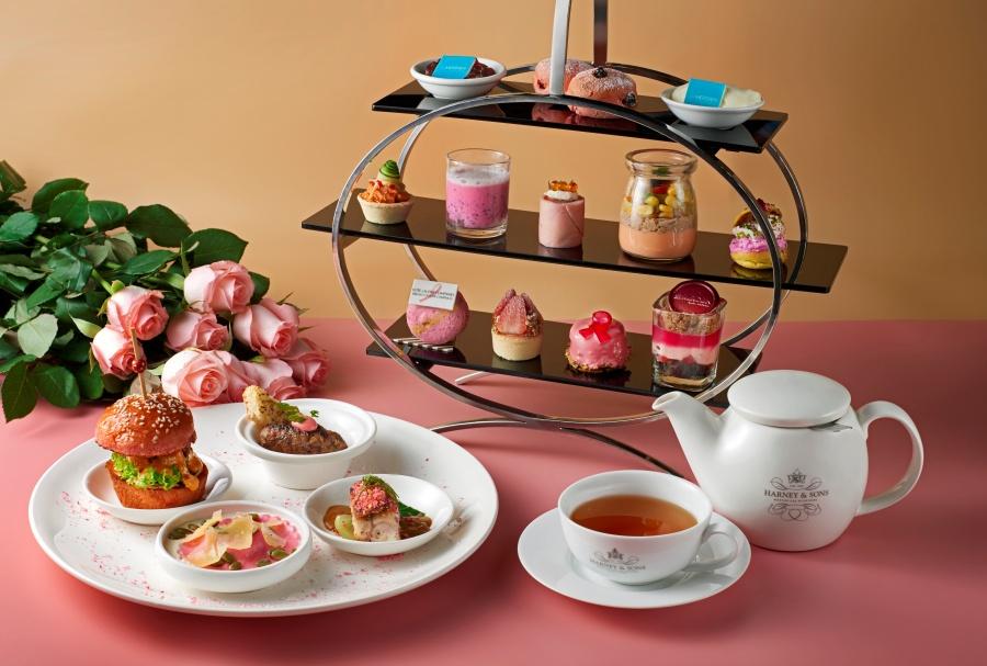 Blushing Pink Afternoon Tea Set